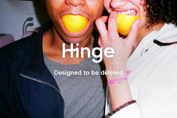 Hinge dating app couple